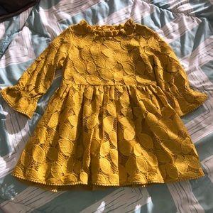 Mustard Leaf Dress